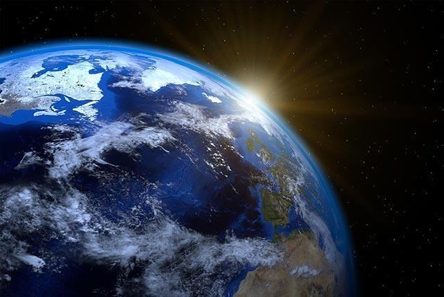 为什么地球一直转